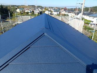 千葉県市原市 屋根カバー工法 完了