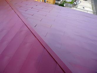 木更津市 屋根カバー工法 雨漏りの調査 小屋裏(屋根裏)の上の点検 雨漏りの跡の発見 電気配線周りのシミ