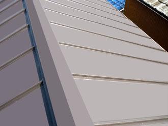 木更津市 屋根葺き替え アールロック 新しい屋根への葺き替え