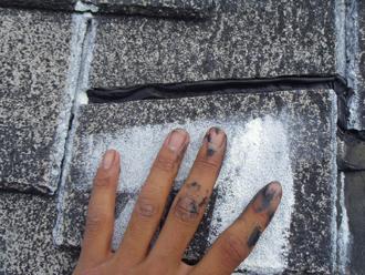 東京都立川市 屋根塗装工事 上塗り完了
