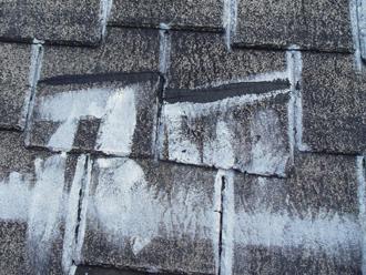 屋根塗装工事 上塗り完了
