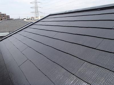 浦安市 屋根補修 屋根塗装 目地の補修 工事完了