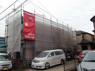 浦安市 屋根補修 屋根塗装 目地の補修 ご近隣へ挨拶