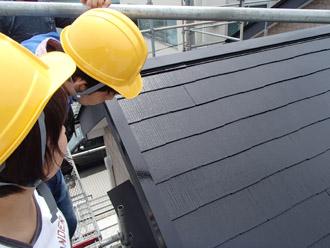 浦安市 屋根補修 屋根塗装 お客様との点検