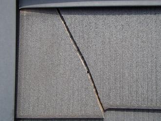 浦安市 屋根補修 屋根塗装 目地の補修 屋根の点検 スレート材の割れ