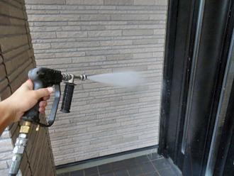 千葉市稲毛区 外壁塗装 高圧洗浄