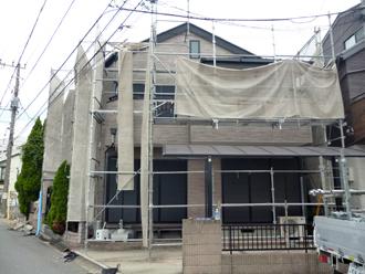 千葉市稲毛区 解体 貫板撤去