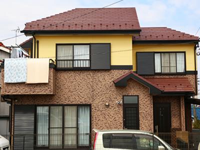 千葉県習志野市 屋根塗装 外壁塗装 工事完了後 お住まい全体 家