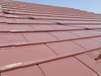 千葉県習志野市 屋根塗装 外壁塗装 工事完了後 屋根 家