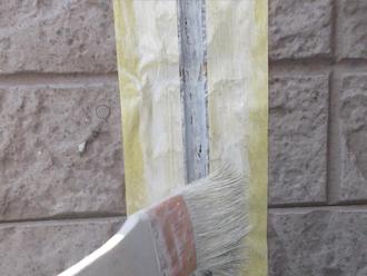 千葉県習志野市 屋根塗装 外壁塗装 塗装の様子 コーキング プライマー 下塗り
