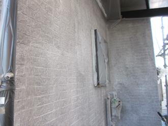 千葉県習志野市 屋根塗装 外壁塗装 塗装の様子 シーラー 塗装後 ナノコンポジット専用