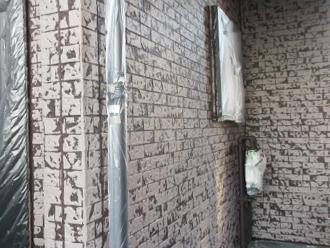 千葉県習志野市 屋根塗装 外壁塗装 塗装の様子 塗装完了後 2色