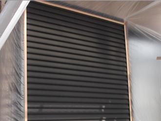 千葉県習志野市 屋根塗装 外壁塗装 塗装の様子 雨戸 塗装前