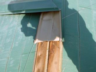 袖ヶ浦市 屋根 板金工事 新しい貫板の加工と調整 新しい板金の加工と調整