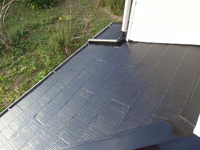 千葉県袖ヶ浦市 屋根塗装 棟板金交換 完了