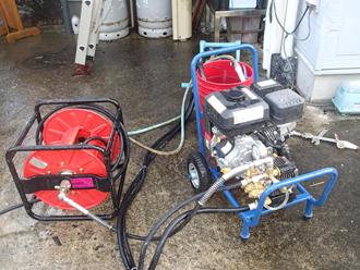 千葉県袖ヶ浦市 屋根塗装 高圧洗浄機