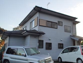 千葉県袖ヶ浦市 屋根塗装 棟板金交換 お住まいの全景