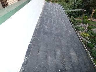 千葉県袖ヶ浦市 屋根塗装 棟板金交換 屋根点検 屋根の色褪せ