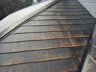 千葉県袖ヶ浦市 屋根塗装 下塗り完了
