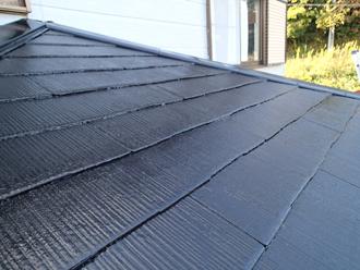 千葉県袖ヶ浦市 屋根塗装 完了