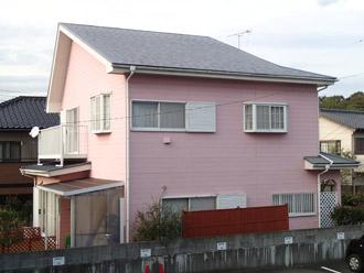 千葉県袖ヶ浦市 屋根塗装・外壁塗装 カラーシミュレーション 現在のお住まい