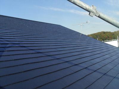 千葉県袖ヶ浦市 屋根塗装・外壁塗装 工事完了後の屋根