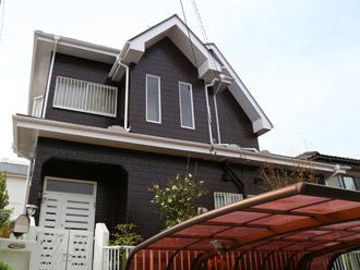 千葉県袖ヶ浦市 屋根塗装・外壁塗装 外周りのほぼ全ての塗り替えが完了