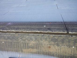 千葉県袖ヶ浦市 屋根塗装・外壁塗装 棟板金交換 棟板金と貫板の撤去