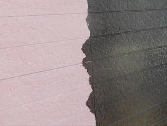 千葉県袖ヶ浦市 屋根塗装・外壁塗装 外壁の中塗り