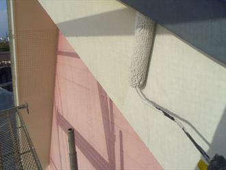 千葉県袖ヶ浦市 屋根塗装・外壁塗装 破風板の塗装