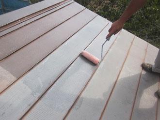 香取郡神崎町 屋根 下塗り 錆止め塗料