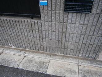 埼玉県 富士見市 屋根塗装 外壁塗装 バルコニー防水 塀の高圧洗浄後