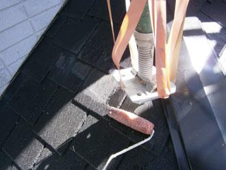埼玉県 富士見市 屋根塗装 外壁塗装 バルコニー防水 足場の移動