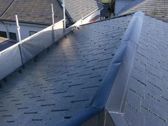 埼玉県 富士見市 屋根塗装 外壁塗装 バルコニー防水 屋根塗装完了