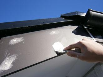 埼玉県 富士見市 屋根塗装 外壁塗装 バルコニー防水 その他の塗装 破風板 下地処理
