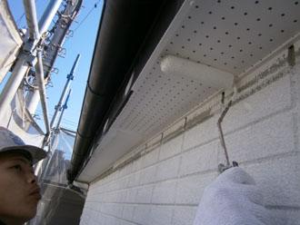 埼玉県 富士見市 屋根塗装 外壁塗装 バルコニー防水 その他の塗装 軒天