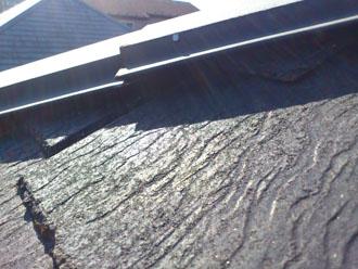埼玉県 富士見市 屋根塗装 外壁塗装 バルコニー防水 点検 棟板金の浮き