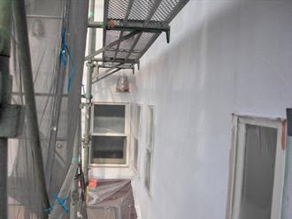 屋根塗装工事 外壁塗装工事 下塗り