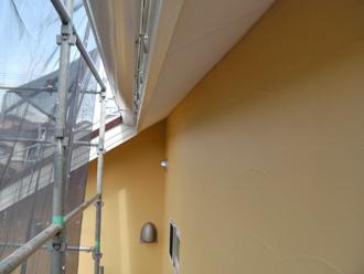 神奈川県厚木市 外壁塗装工事 上塗り ナノコンポジットW