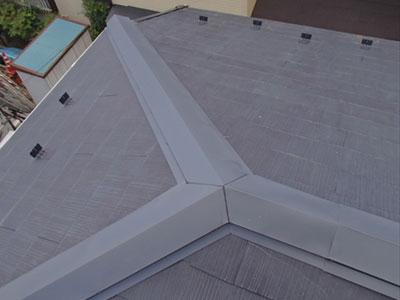 川崎市宮前区 棟板金交換工事 完工