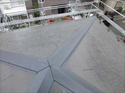 横浜市港南区 点検 屋根材割れ2