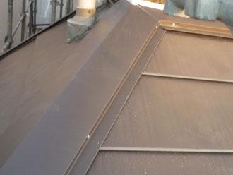 横浜市中区 屋根カバー 完工