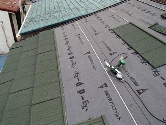横浜市保土ケ谷区 屋根カバー工事 エコグラーニ