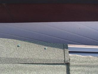 横浜市保土ケ谷区 屋根カバー工事 ケラバへ専用部品設置