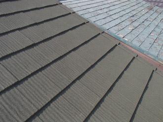 横浜市保土ケ谷区 屋根カバー工事 屋根カバー工法完了