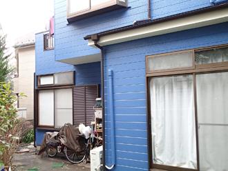 神奈川県横浜市戸塚区 外壁塗装工事 上塗り
