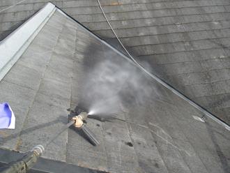 神奈川県横浜市戸塚区 屋根塗装工事 高圧洗浄