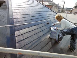 横浜市港北区 雨漏り補修 屋根塗装完工