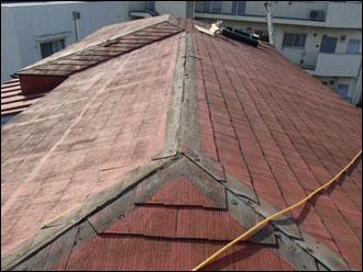 横浜市港南区 既存板金撤去後清掃