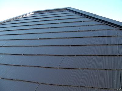 横浜市瀬谷区 棟板金交換  屋根塗装・外壁塗装  工事完了後の屋根